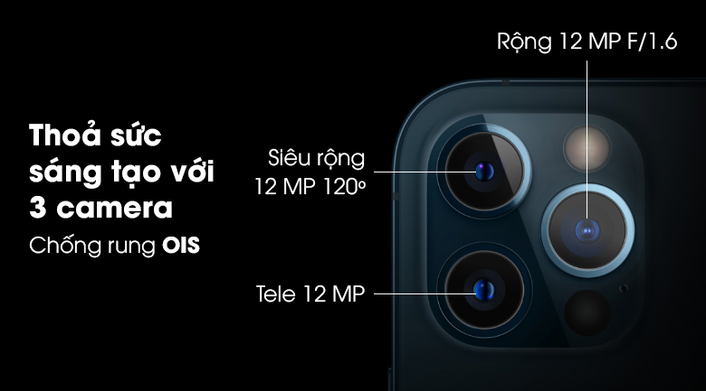 iphone 12 pro 3 camera kép